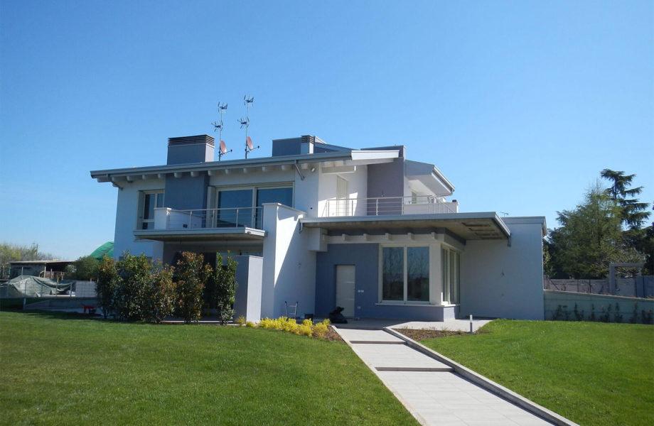Tinteggiatura esterna abbinamento colori jn16 for Pittura moderna casa